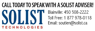 Call today to speak with a Solist adviser!